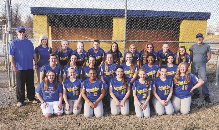 Team pic - softball